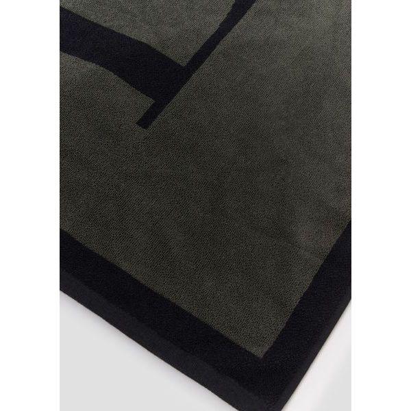 Towel Grey/nero Emporio Armani