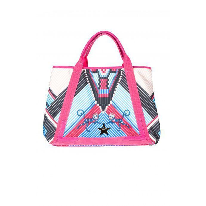 Maxi beach bag Pink Pin Up