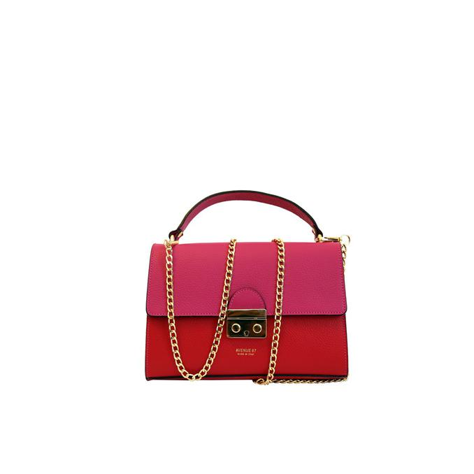 AVENUE 67 Red Cherie shoulder bag djiFM36zmI