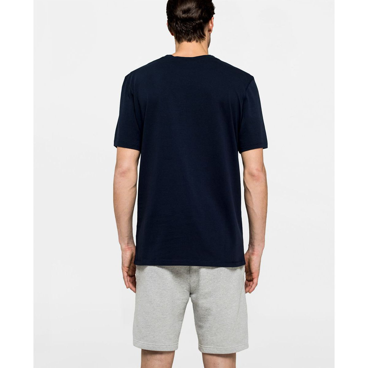 T-shirt Navy Sundek