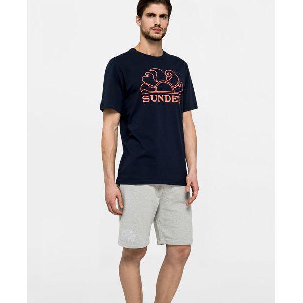 T-shirt Navy Sundek