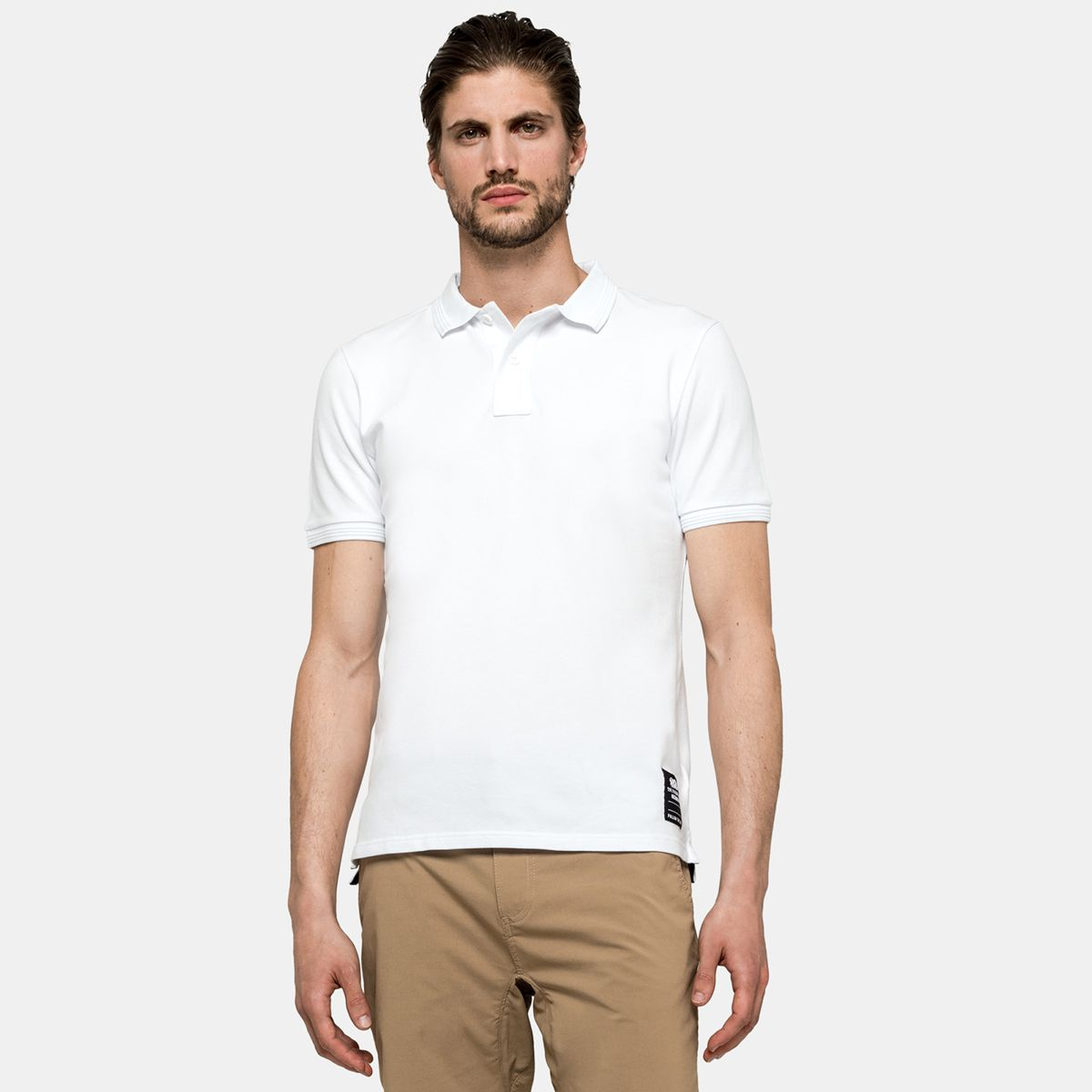 Polo White Sundek