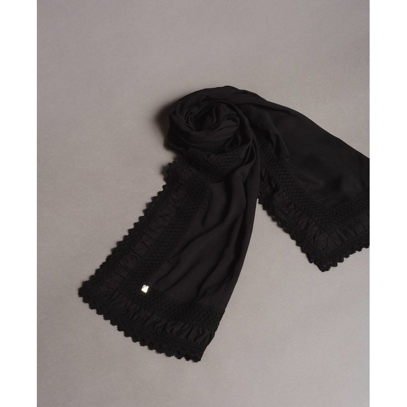 Scarf Black Twin Set