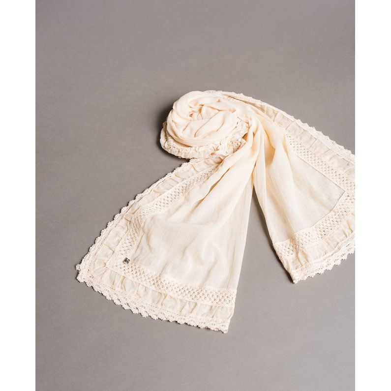Scarf Ivory Twin Set