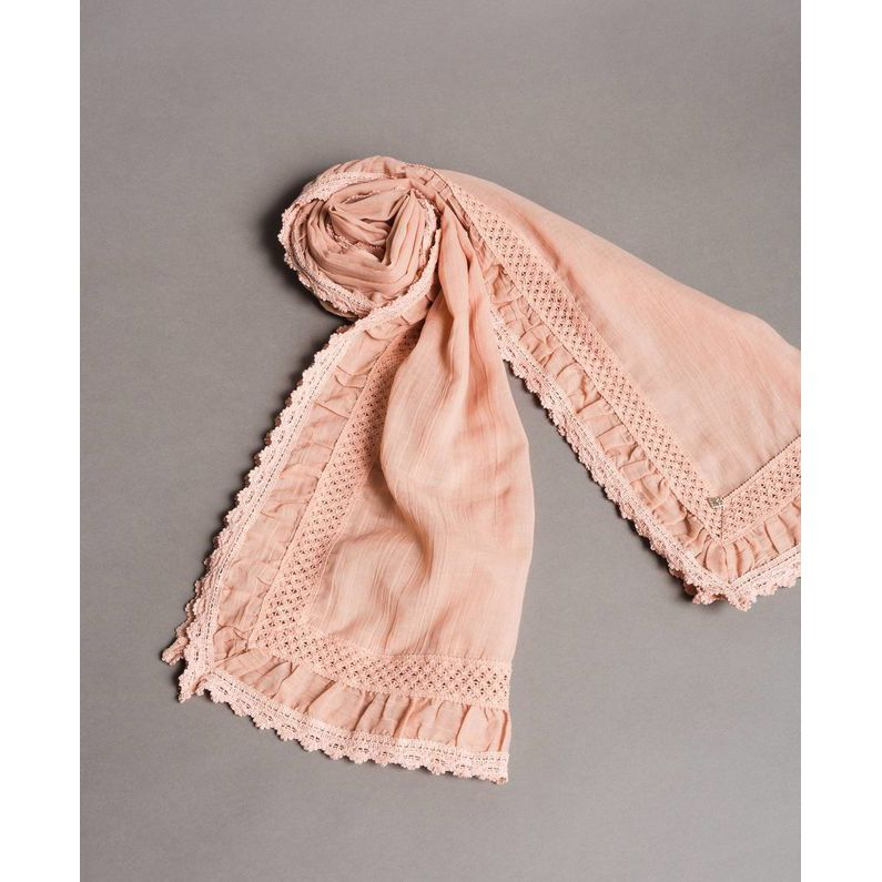 Scarf Pink Twin Set
