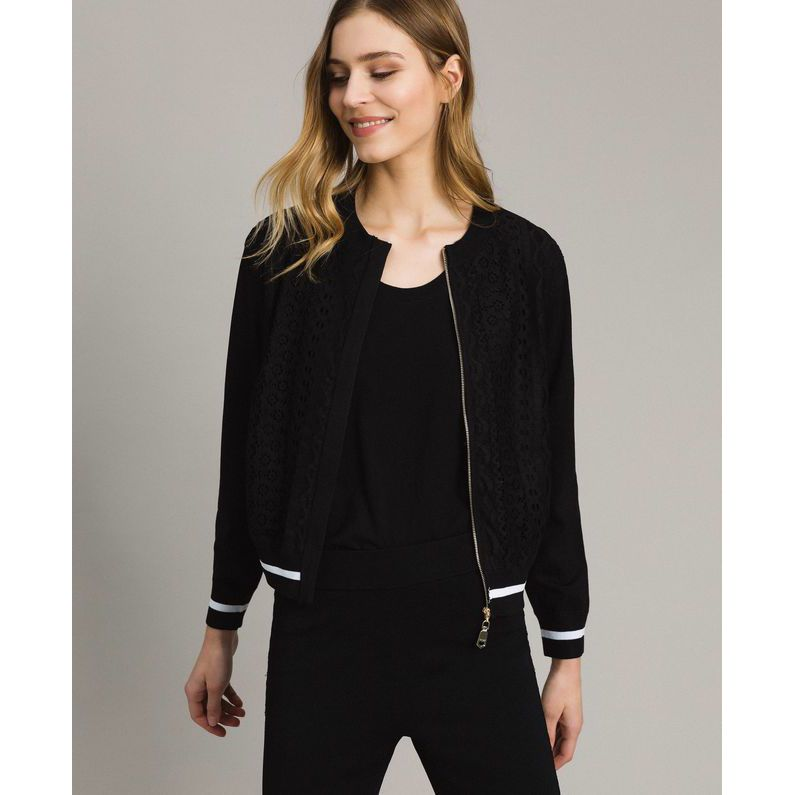 Bomber Black Twin Set