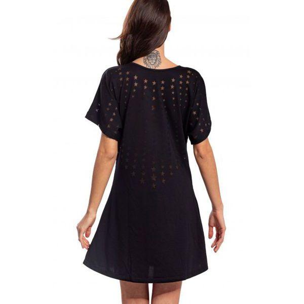 Dress Black Pin Up