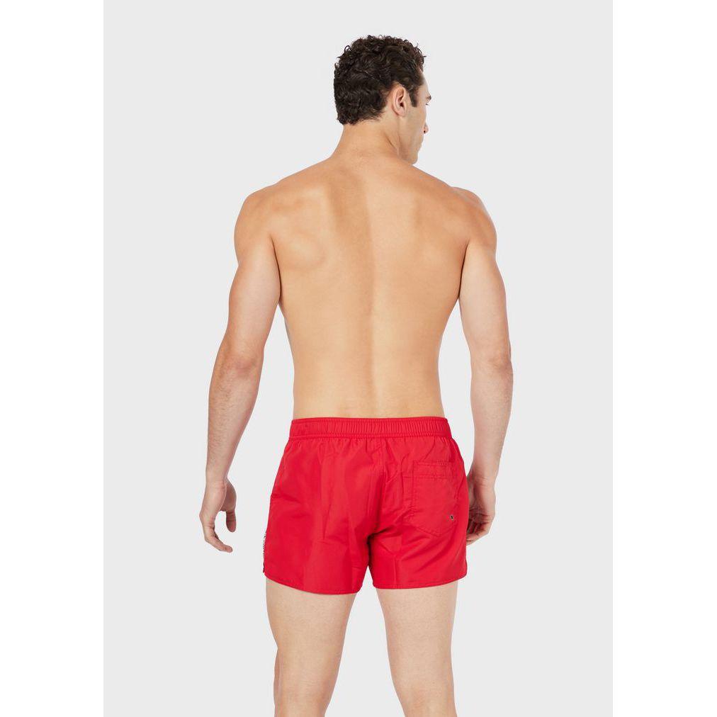 SHORT whith elastic Red Emporio Armani