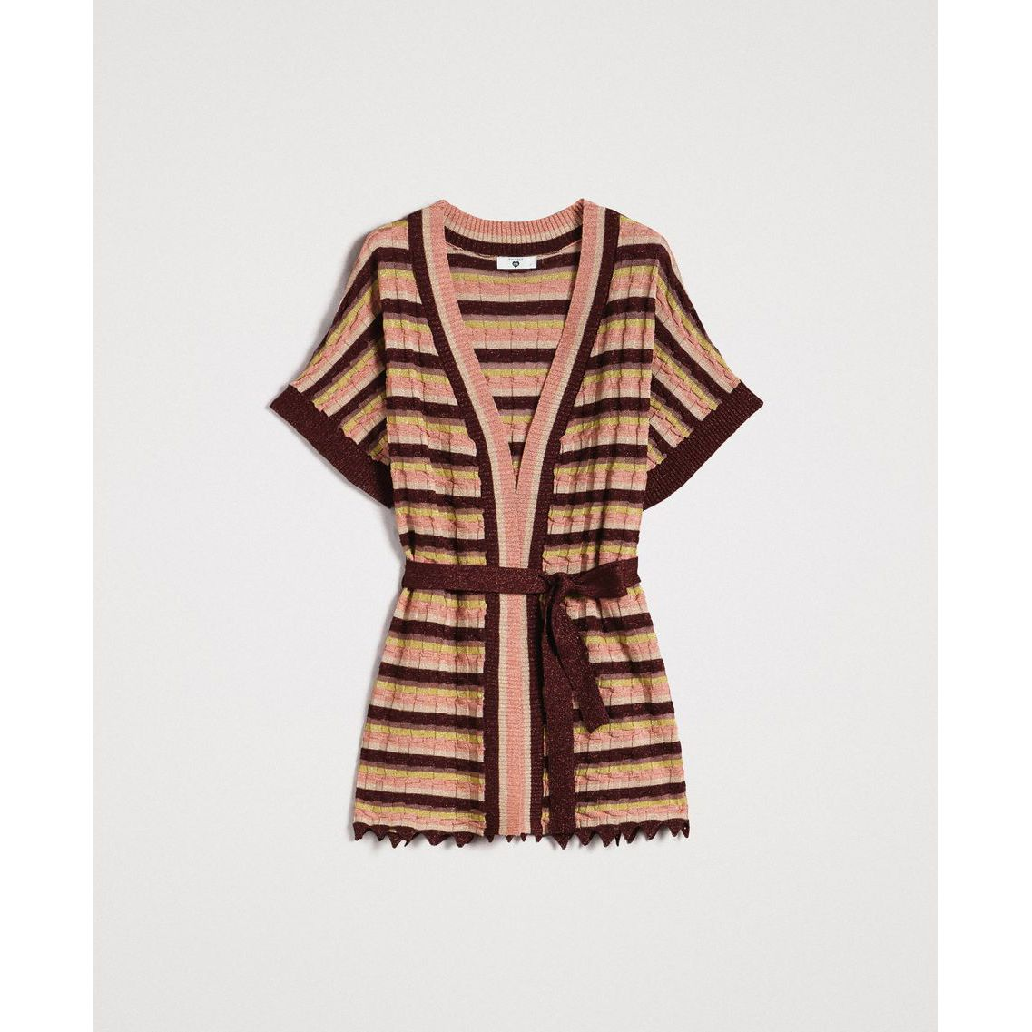 Cardigan Multicolor lurex Twin Set