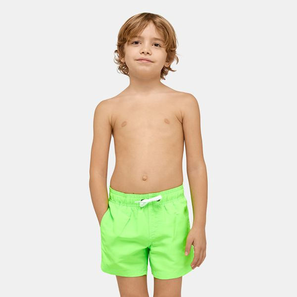 2. beach short Fluo green 11 Sundek