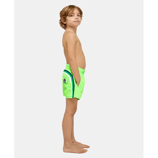 3. beach short Fluo green 11 Sundek