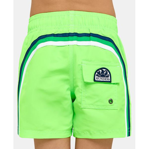 1. beach short Fluo green 11 Sundek