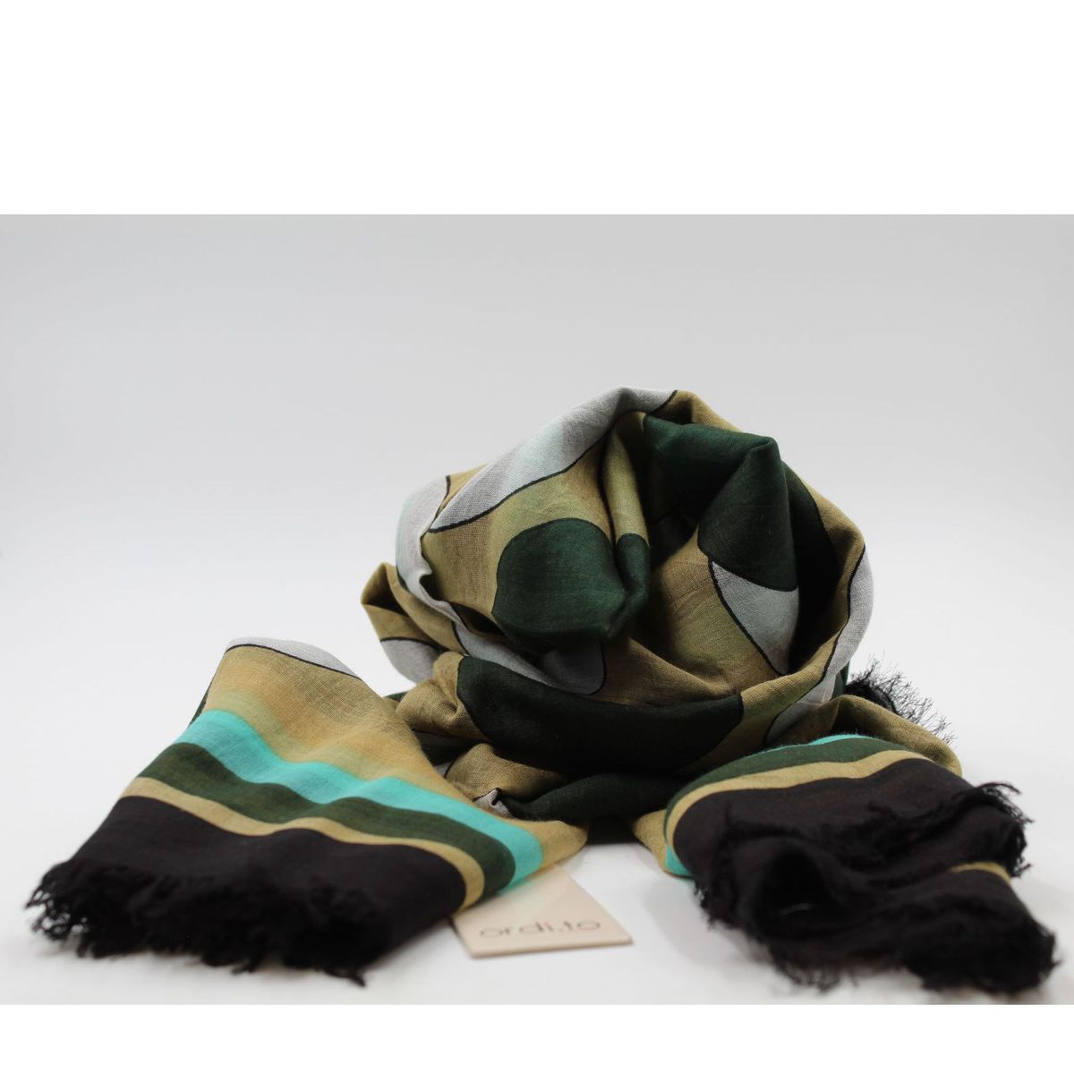 Dry scarf Black Ordi.to