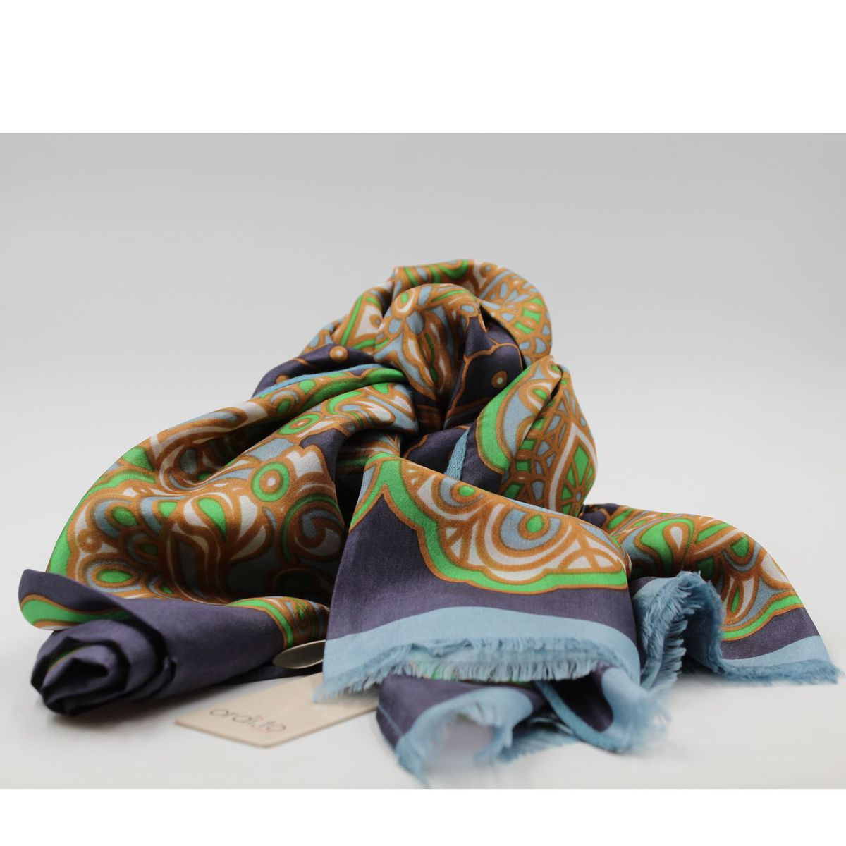 Rossini scarf Light blue Ordi.to