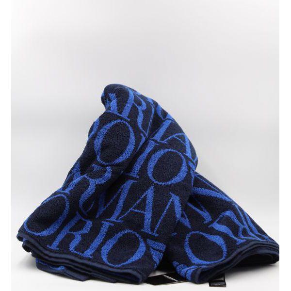 1. Logo towel Bleu Emporio Armani