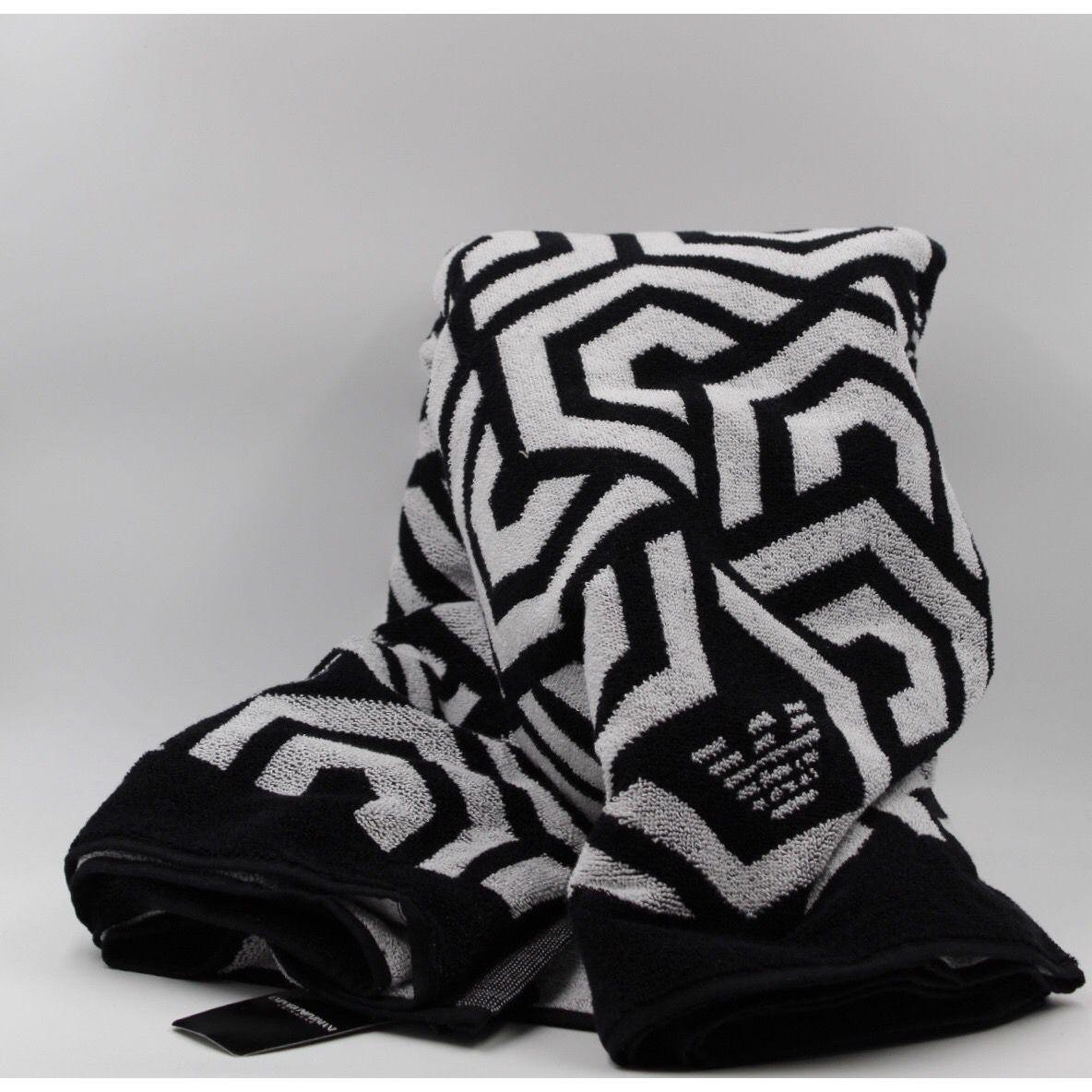 Optical towel Black Emporio Armani