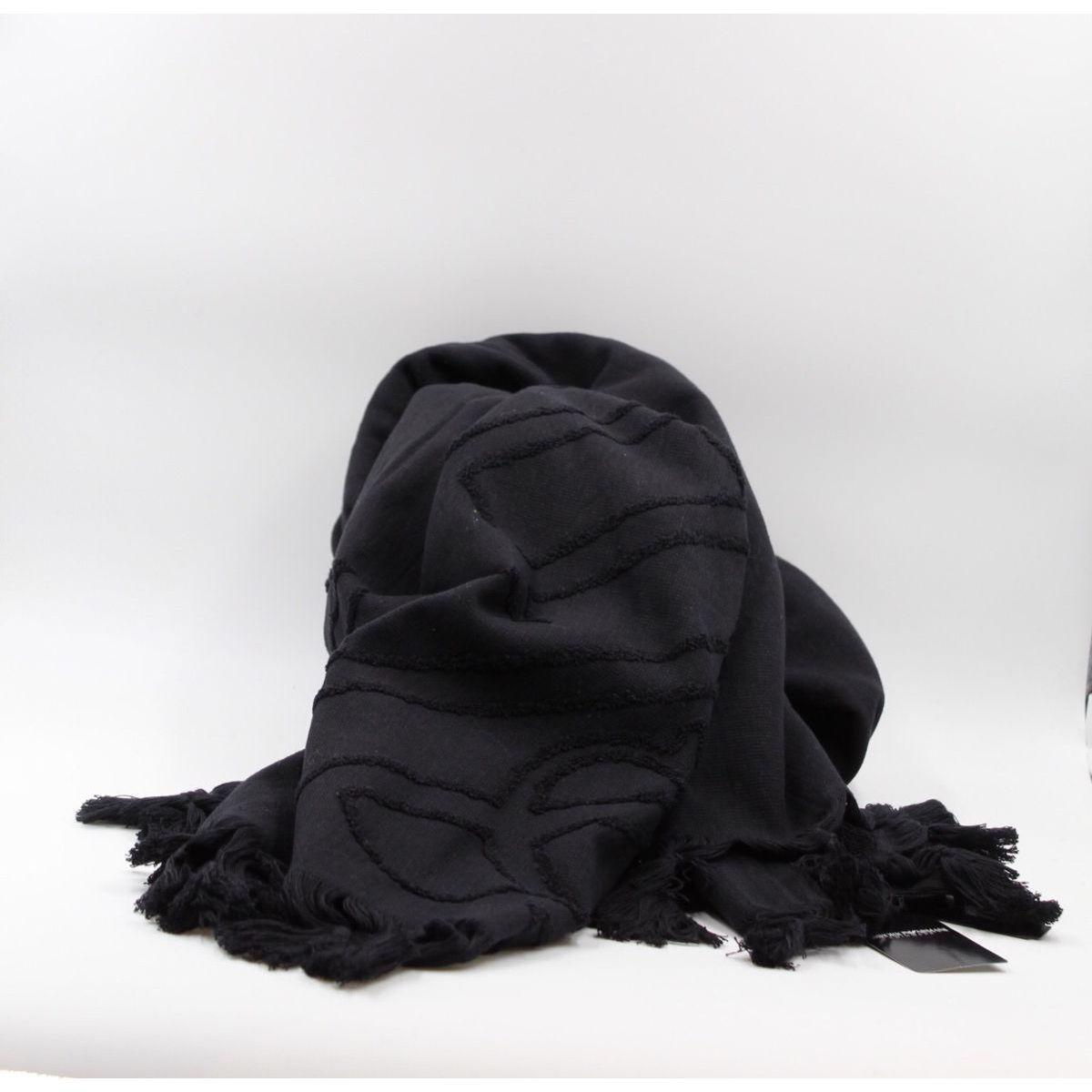 GA towel Black Emporio Armani