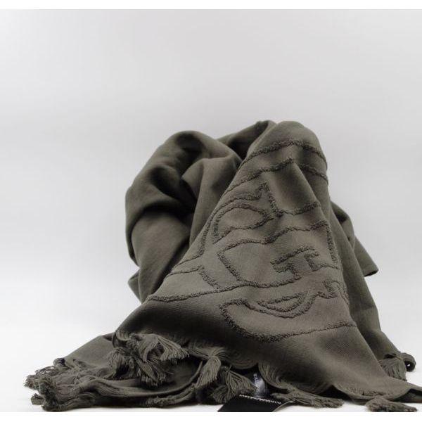 GA towel Military green Emporio Armani