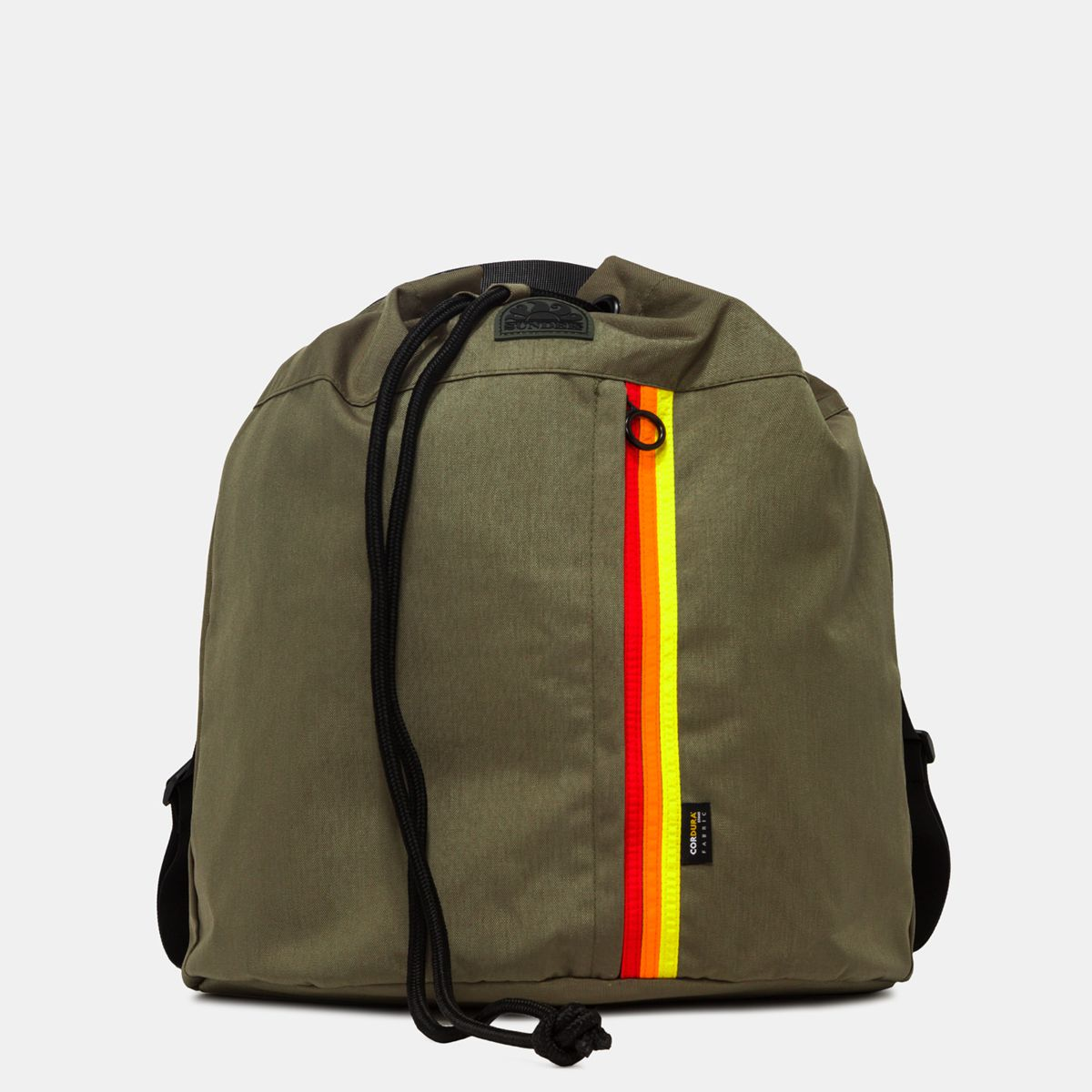 1. Cordura bag backpack Dark ar.green Sundek