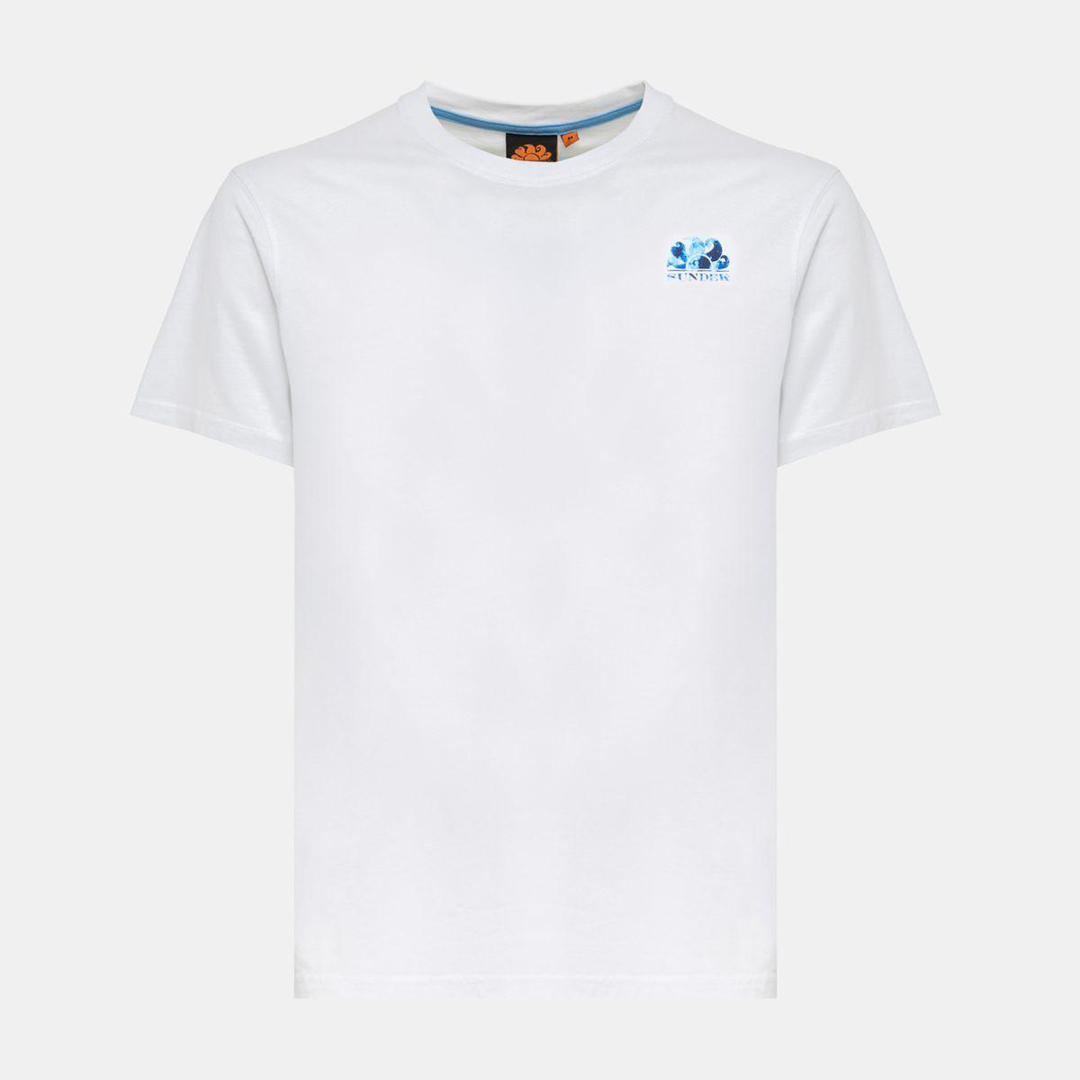 Robinson crew neck t-shirt White Sundek
