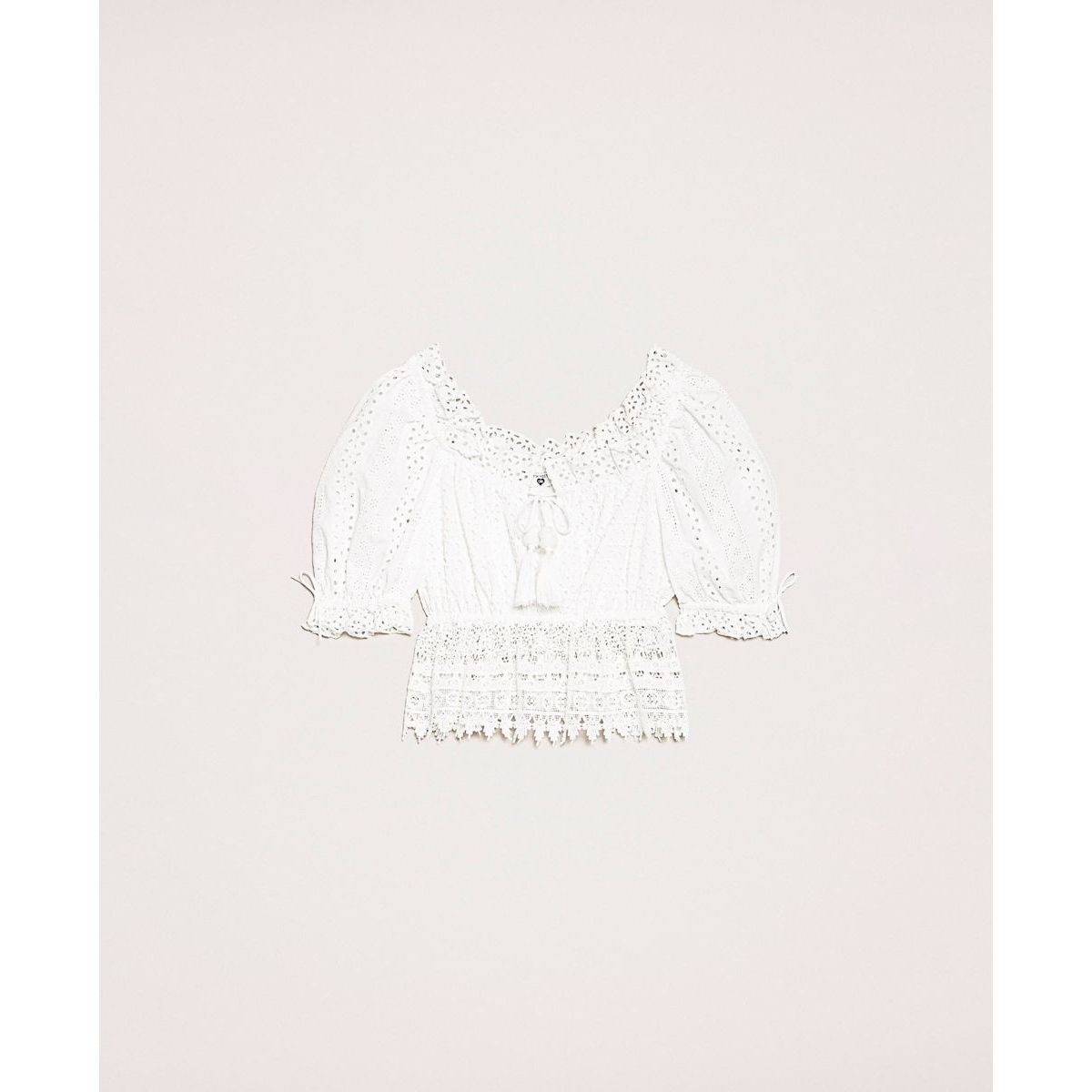 Sangallo top White Twin Set