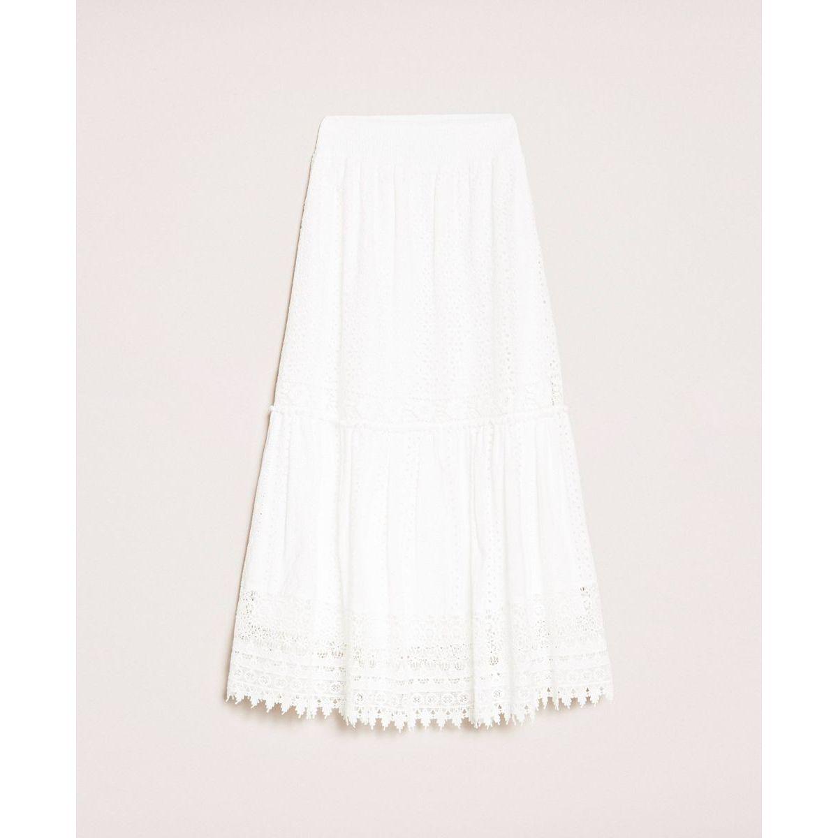 Sangallo skirt White Twin Set