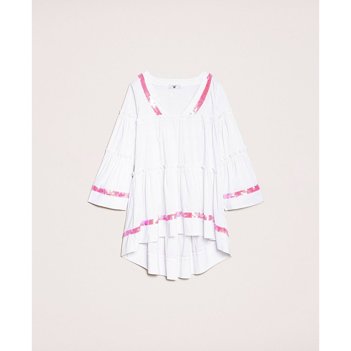 Kaftan flounces White Twin Set