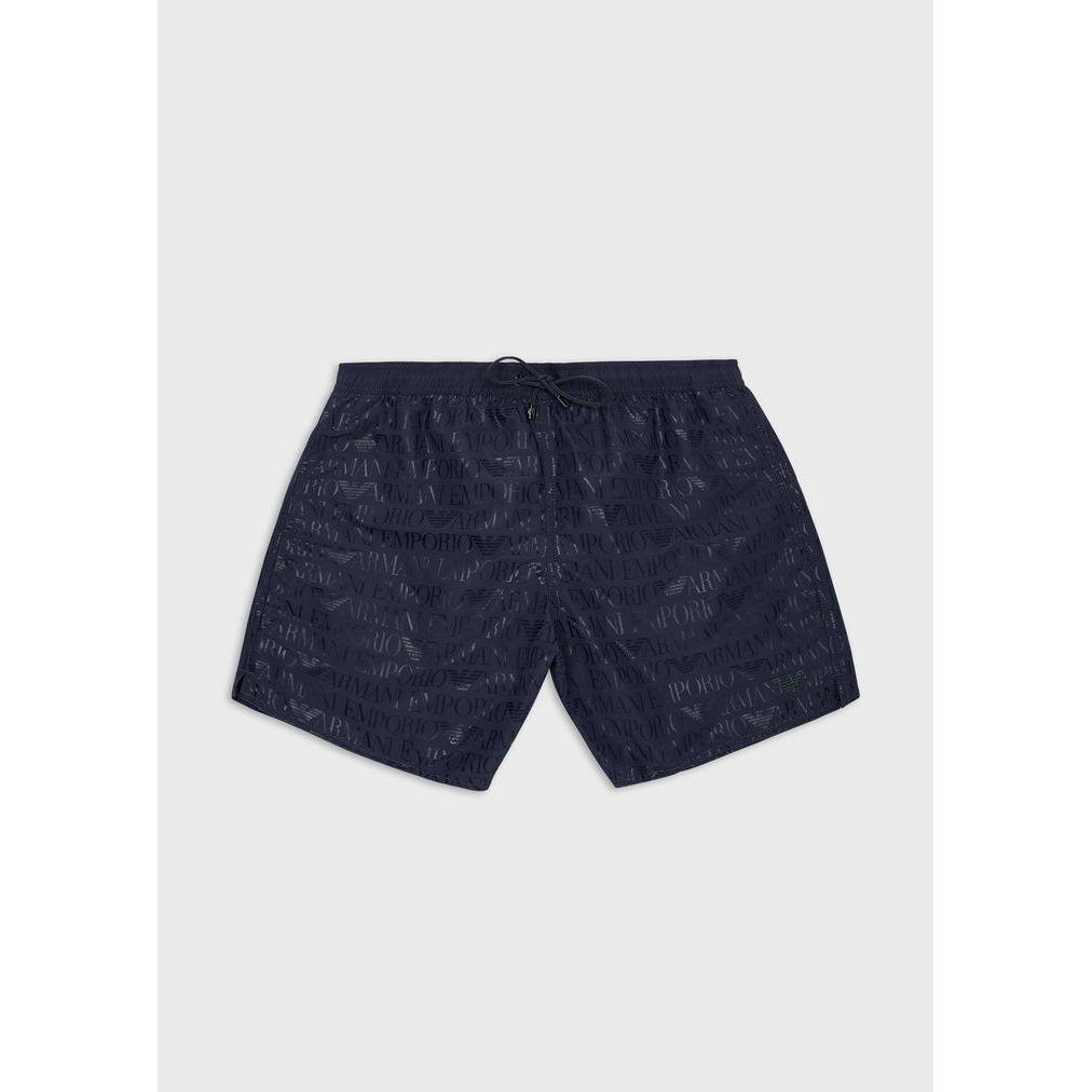 Sea shorts lettering Blue navy Emporio Armani