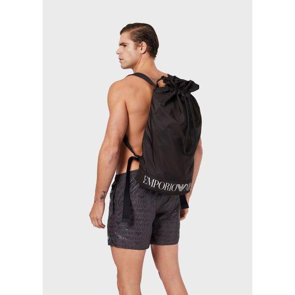 2. Nylon bag Black Emporio Armani