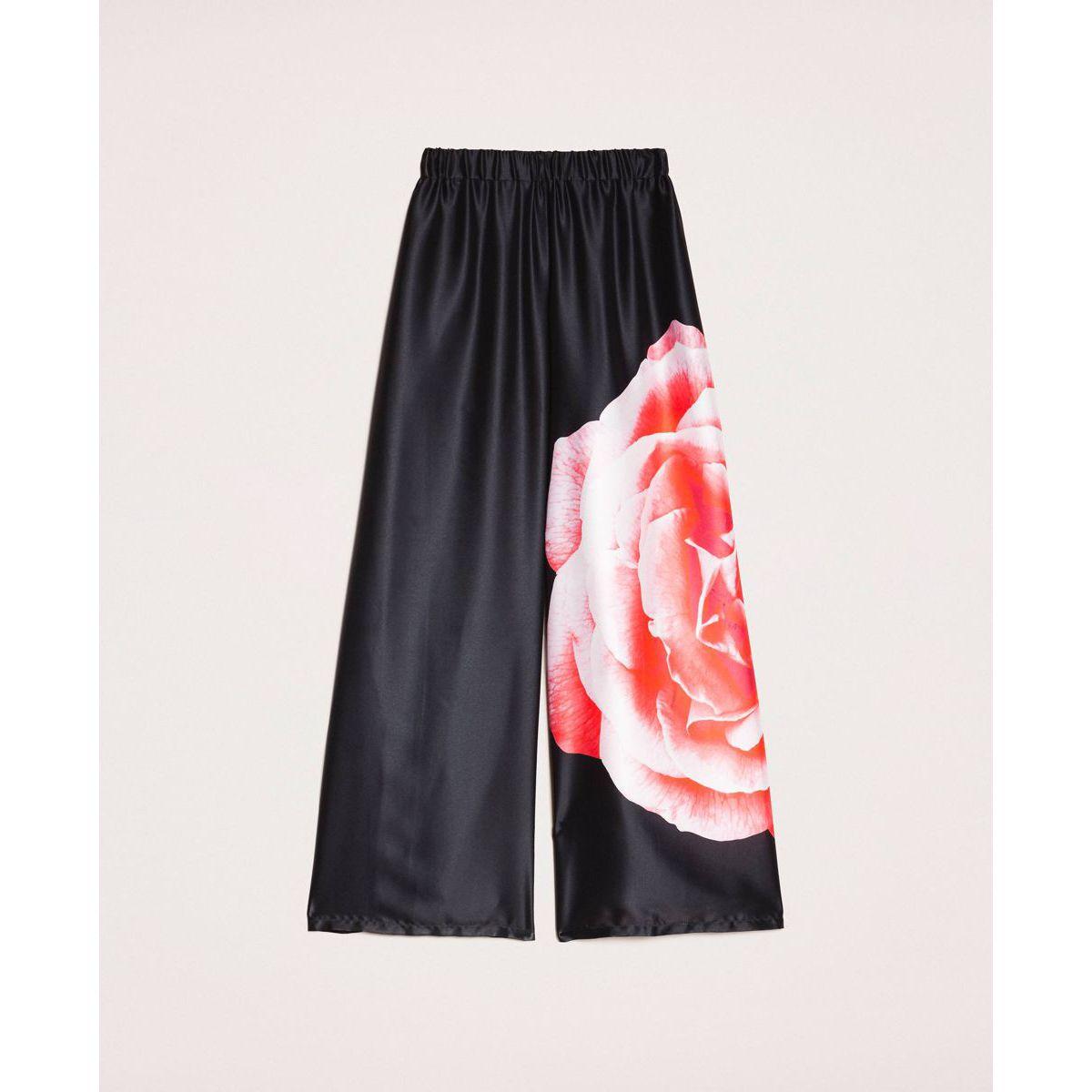 Rose trouser Black Twin Set