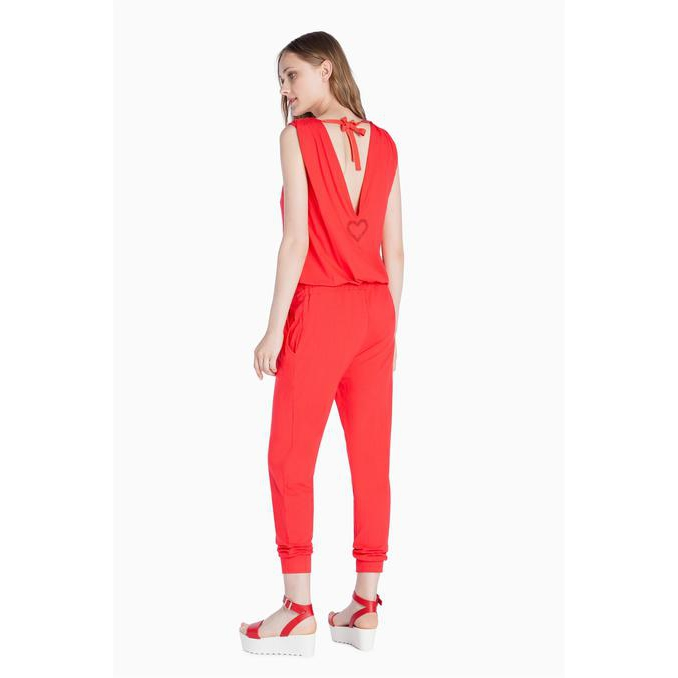JERSEY SUIT Hawaii Sunset Red Twin Set