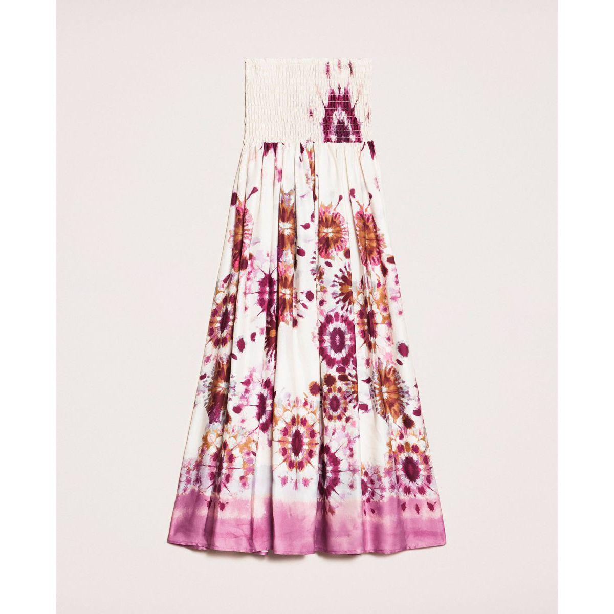 Misdyed dress-skirt Rose Twin Set