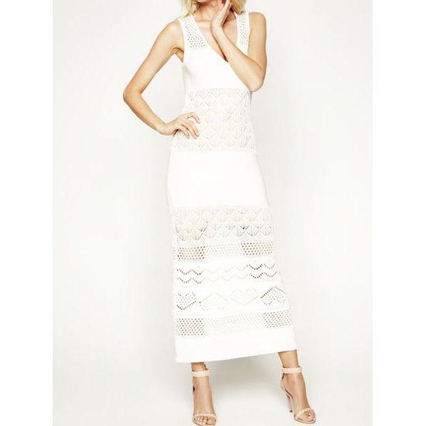 Knitted dress Ivory Twin Set