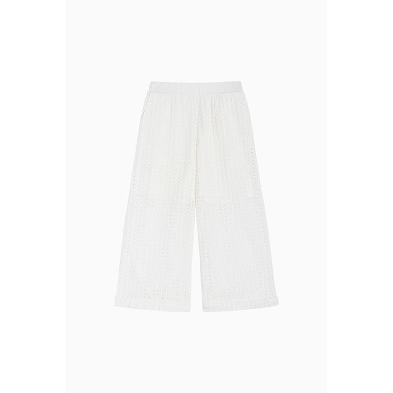 CROPPED TROUSERS White Twin Set
