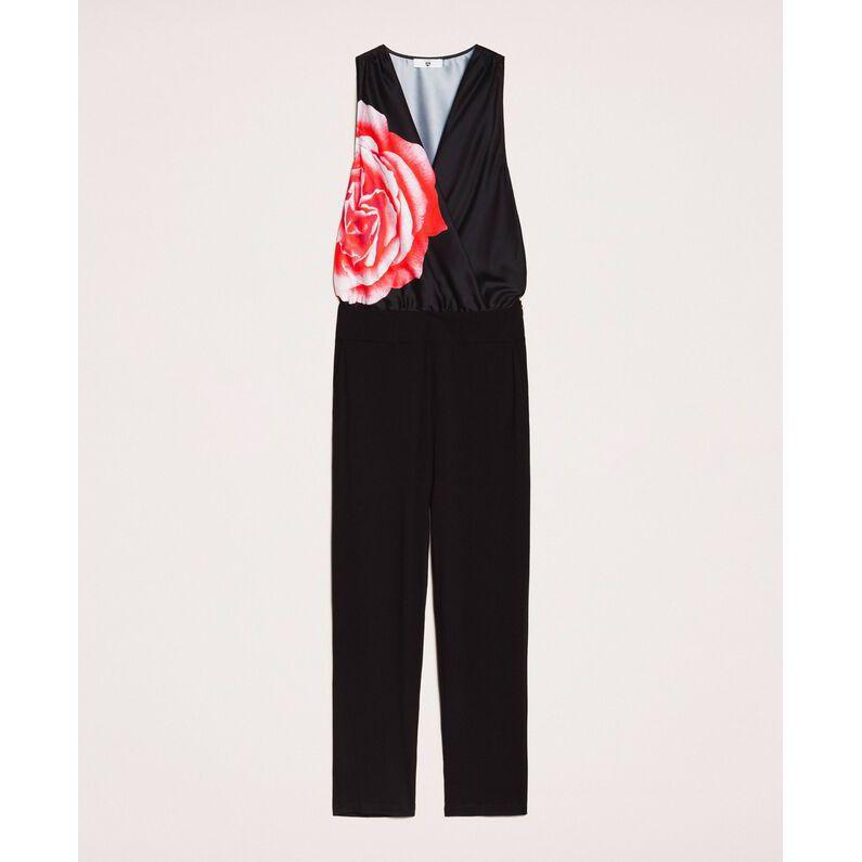 Rose suit Black Twin Set