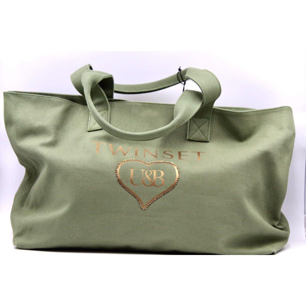 Heart bag Green Twin Set