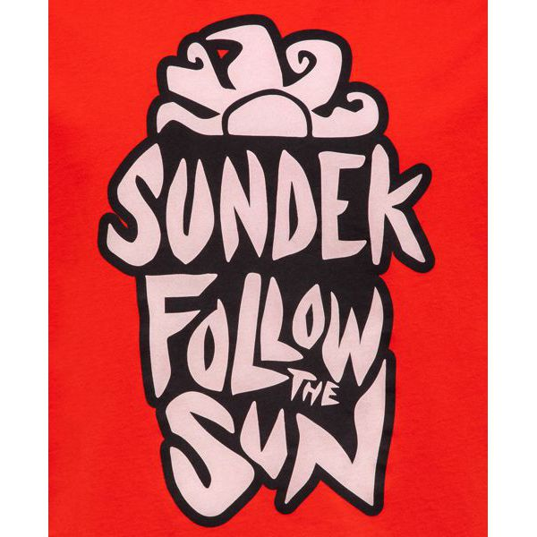 Pop t-shirt Red Sundek