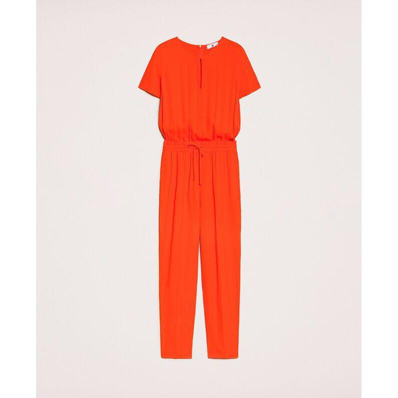 Georgette suit Orange Twin Set
