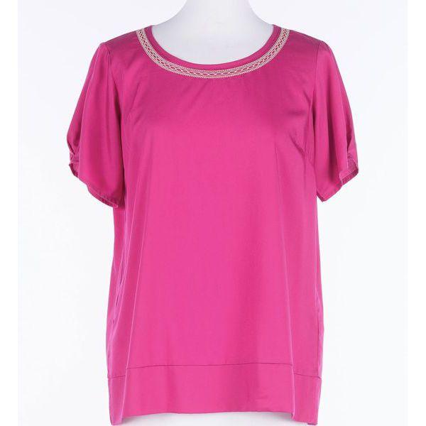 Embroidery blouse f Fuxia Twin Set