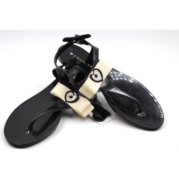 Sandal Black Twin Set