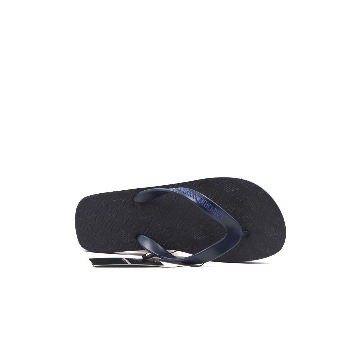 Flip flop Blue black Emporio Armani