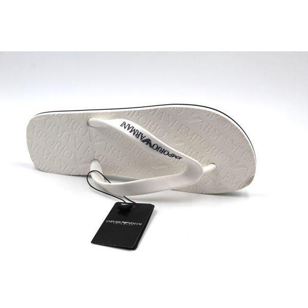 1. Flip flop Ivory Emporio Armani
