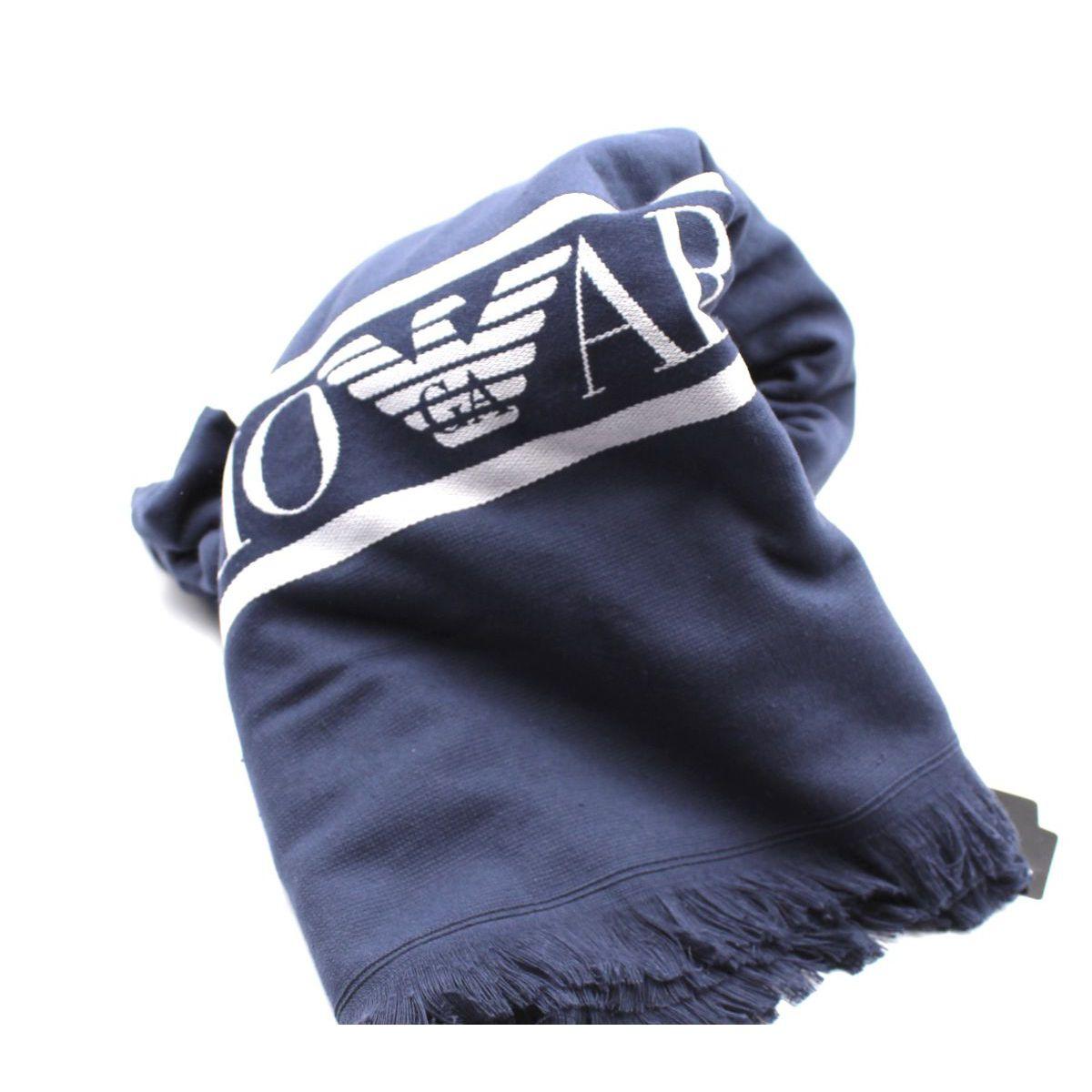 EA towel Blue Emporio Armani