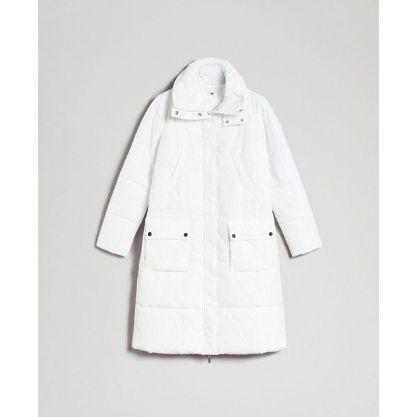 Long down jacket White Twin Set