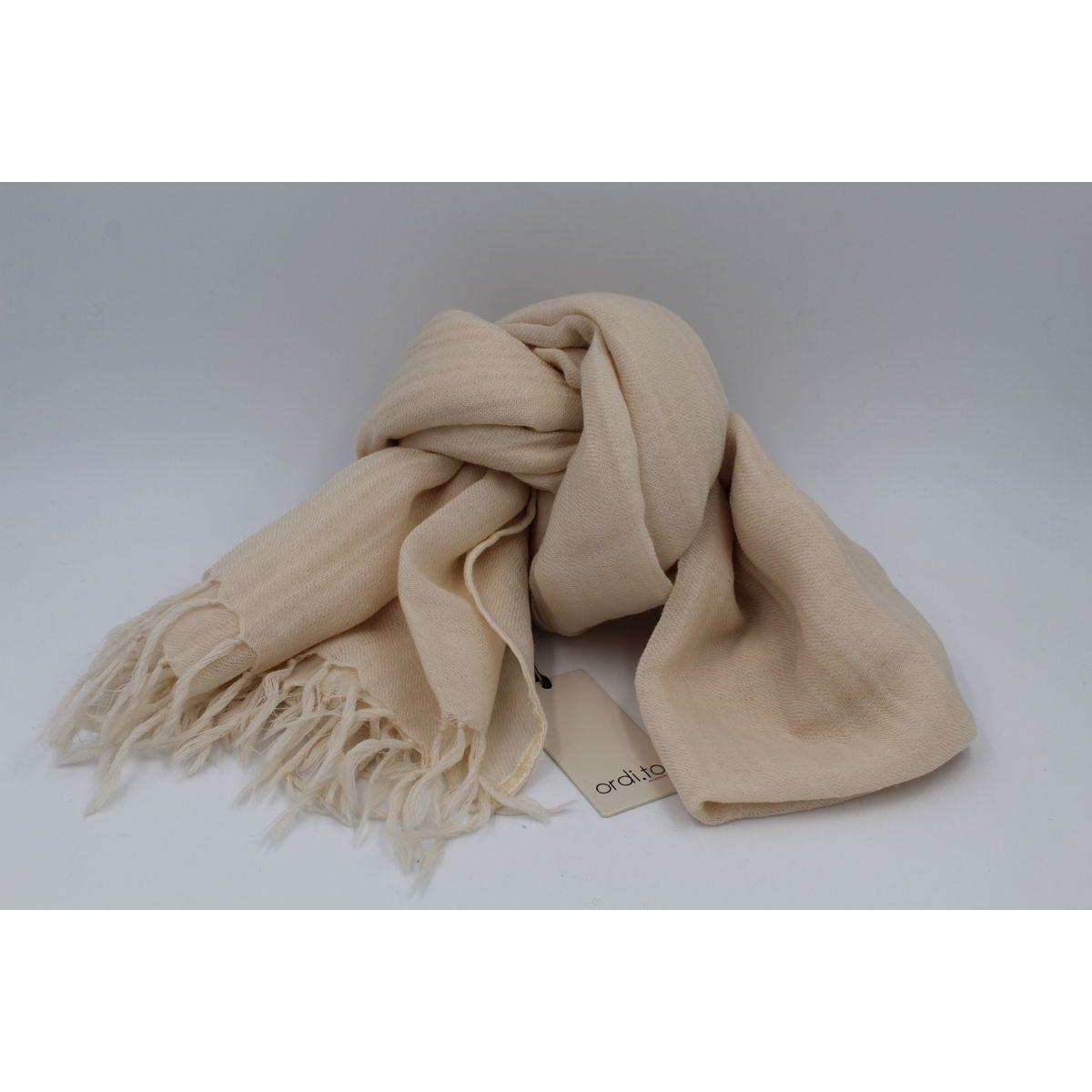 Wool pashmina Ivory Ordi.to