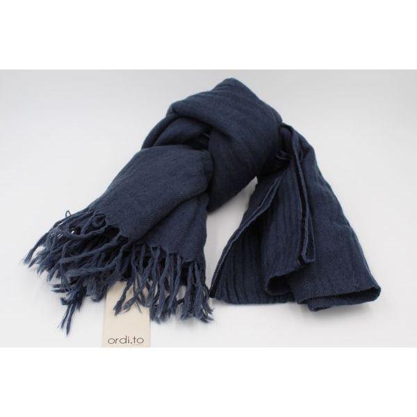Wool pashmina Blue Ordi.to