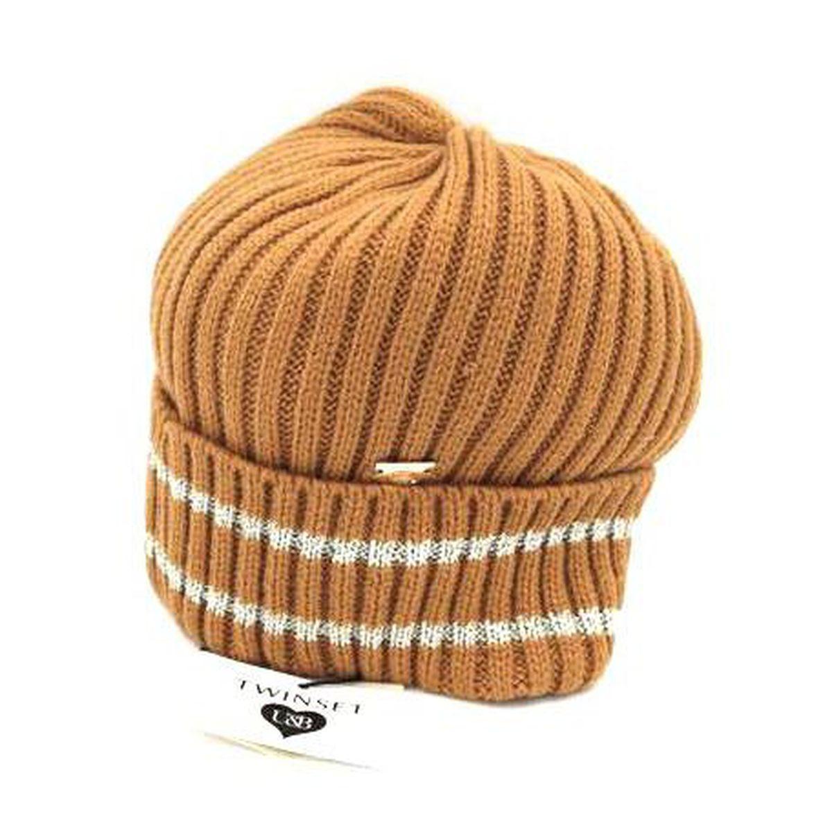 1. Cap hat Camel Twin Set