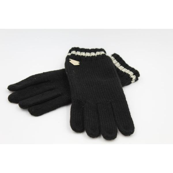Lurex gloves Black Twin Set