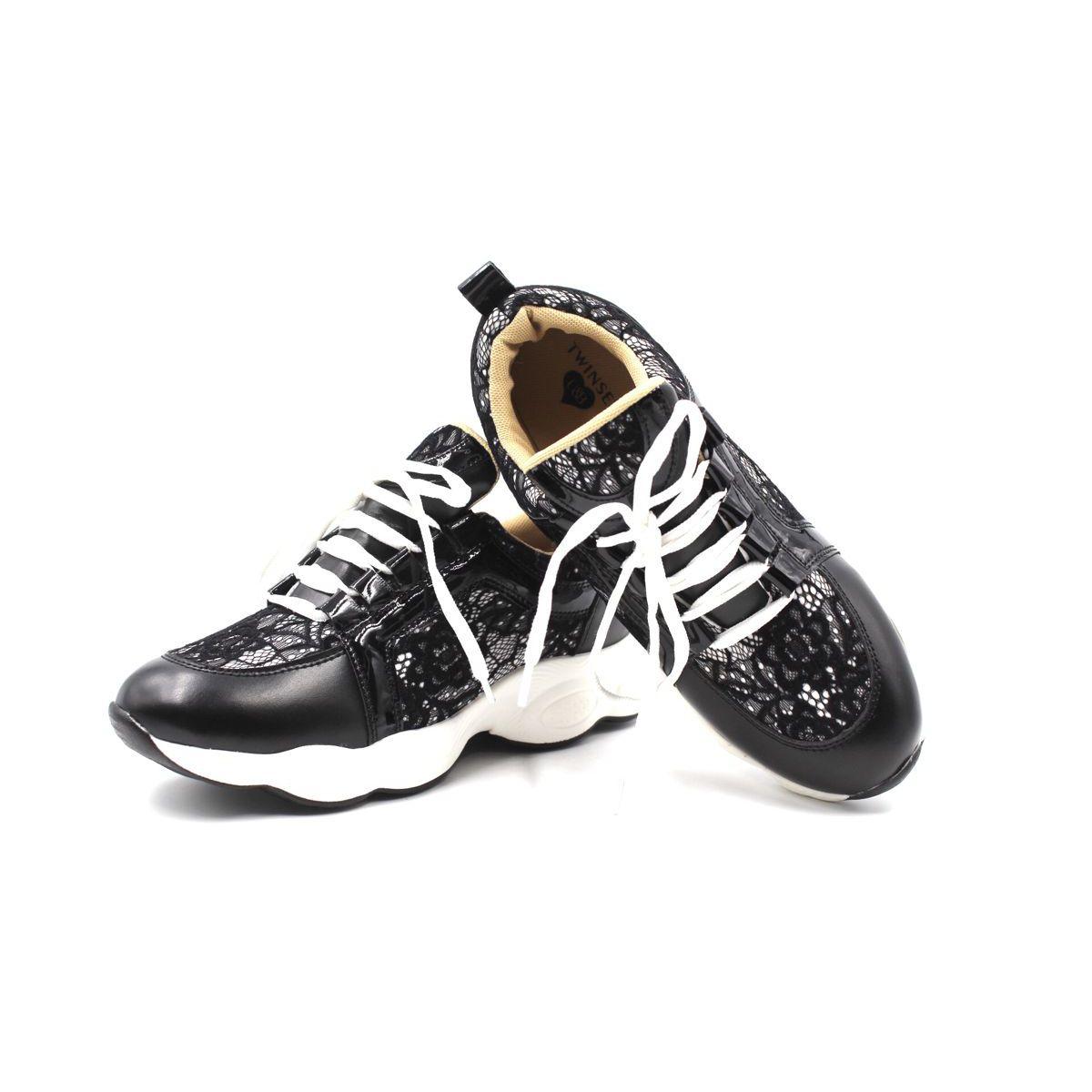 1. Women's sneakers Black Twin Set