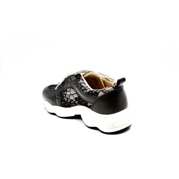 4. Women's sneakers Black Twin Set